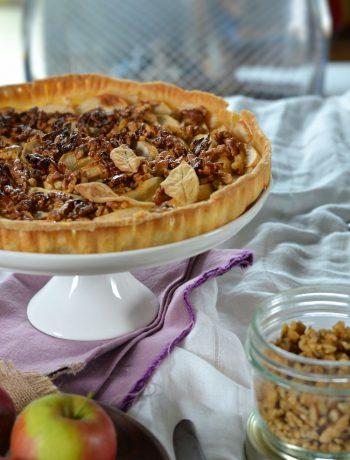 tarte-aux-pommes-et-noix-caramelisées