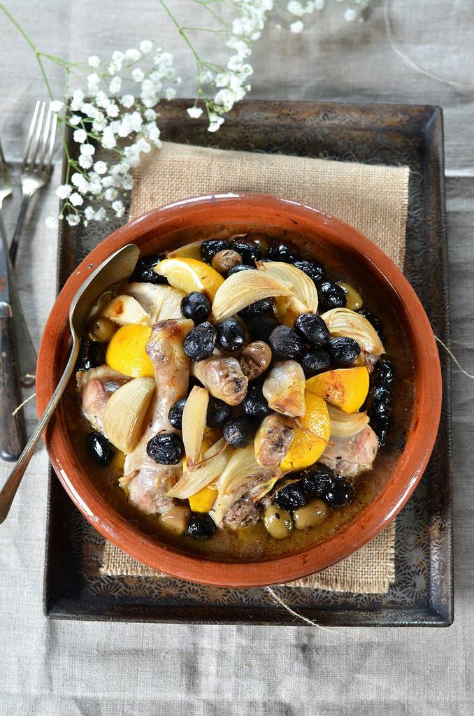 tajine poulet citron et olives recette tangerine zest. Black Bedroom Furniture Sets. Home Design Ideas