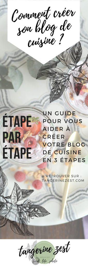 Créer un blog de cuisine sur wordpress