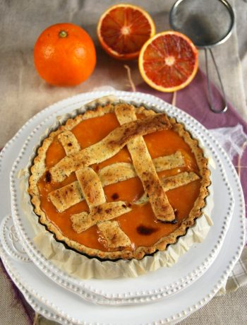 Tarte orange sanguine