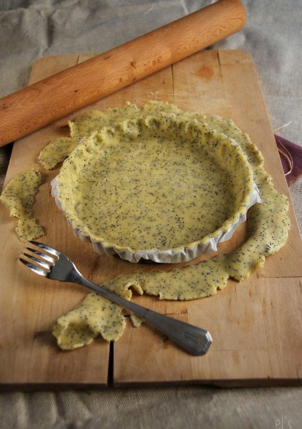 Pâte à tarte au pavot {maison}