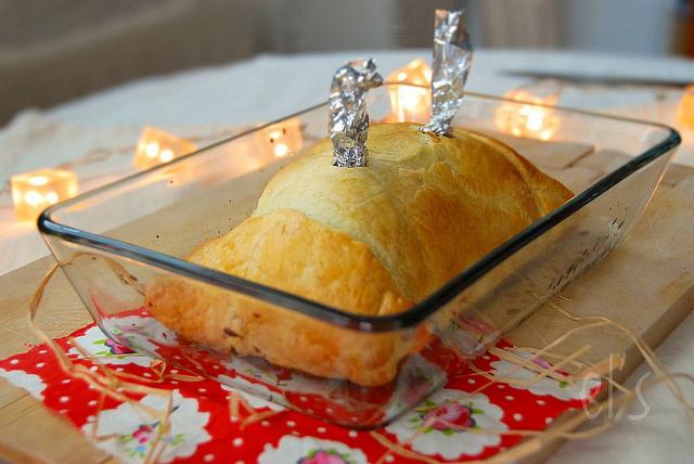 Filet mignon en croute