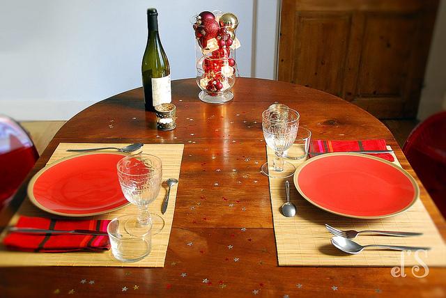 Table de Noël d