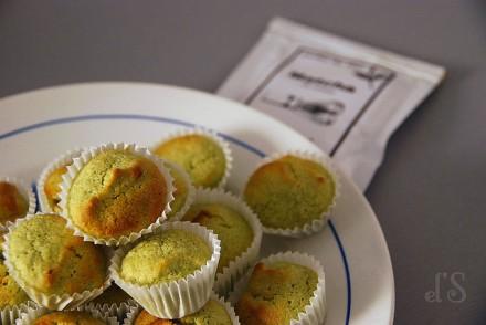 Mini moelleux citron amande et thé matcha