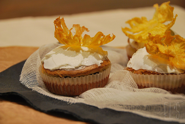 Cupcakes au chèvre