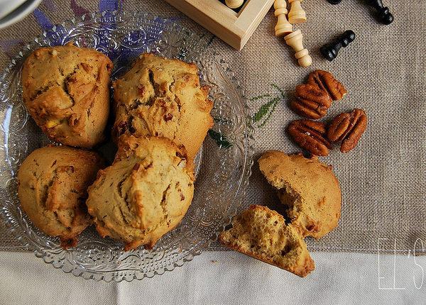 Cookies canadiens aux noix de pecan et sirop d'érable