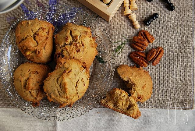 Cookies aux noix de pecan et sirop d