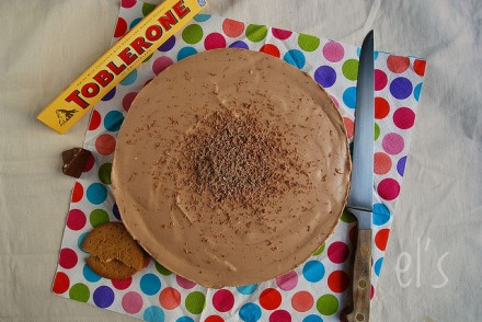 Cheesecake sans cuisson au toblerone recette