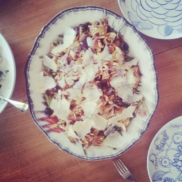 Salade d'artichauts au saveurs italiennes. Bon ap