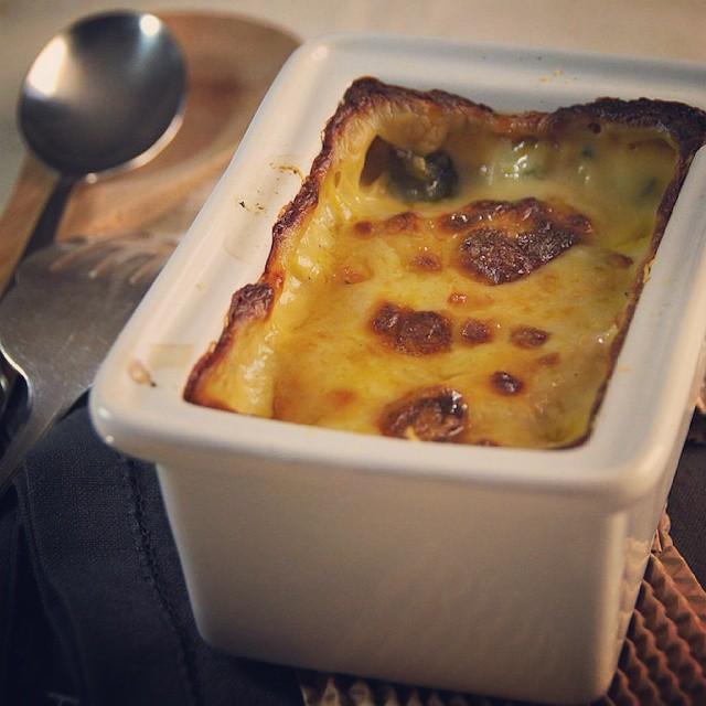#battlefood avec un gratin de blette au fromage !!