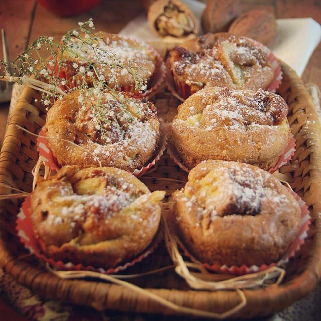 Et on termine la journée en douceur avec des muffins délicieux sur le blog...