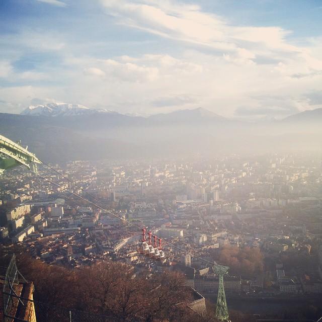 En balade à Grenoble...