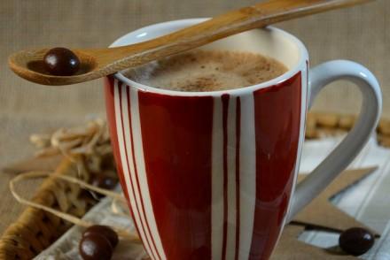 Smoothie chocolat-café au lait d