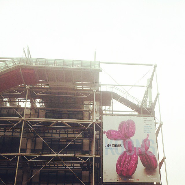 Jeff, je reviendrai te rendre visite à #Beaubourg #Paris