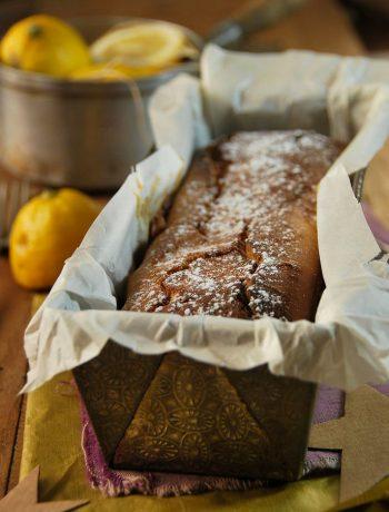 Cake au mascarpone et citron