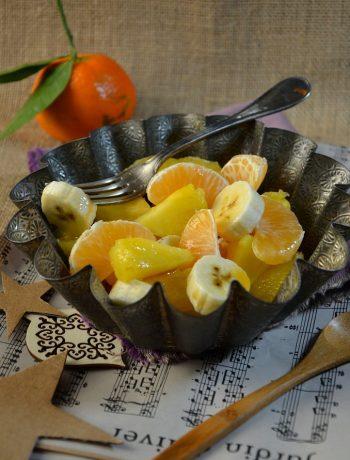 Salade de fruits d'hiver au sirop d'érable