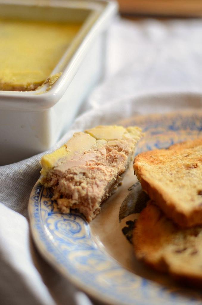 terrine de foie gras maison recette tangerine zest