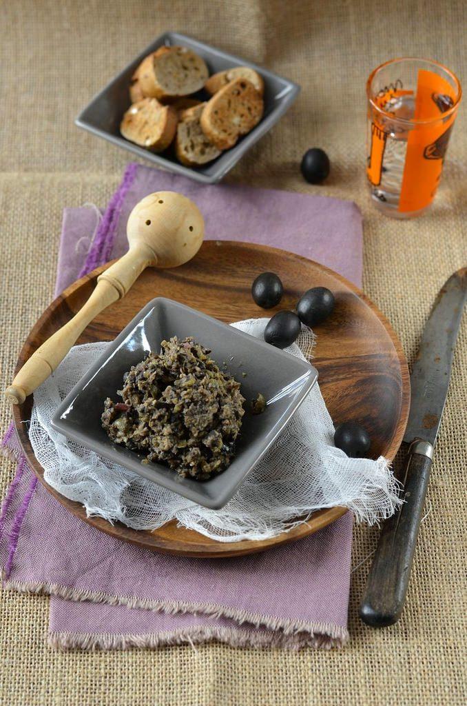 Tapenade maison d'olives noires