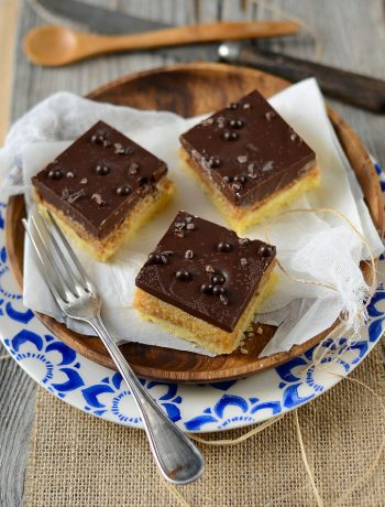 Millionaire shortbread - Caramel square