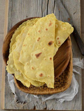 Tortillas maison à la farine de maïs