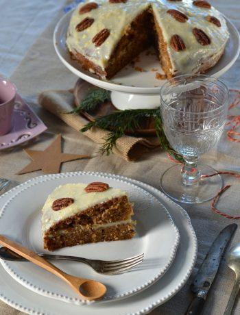 Carrot cake - Gâteau de carotte