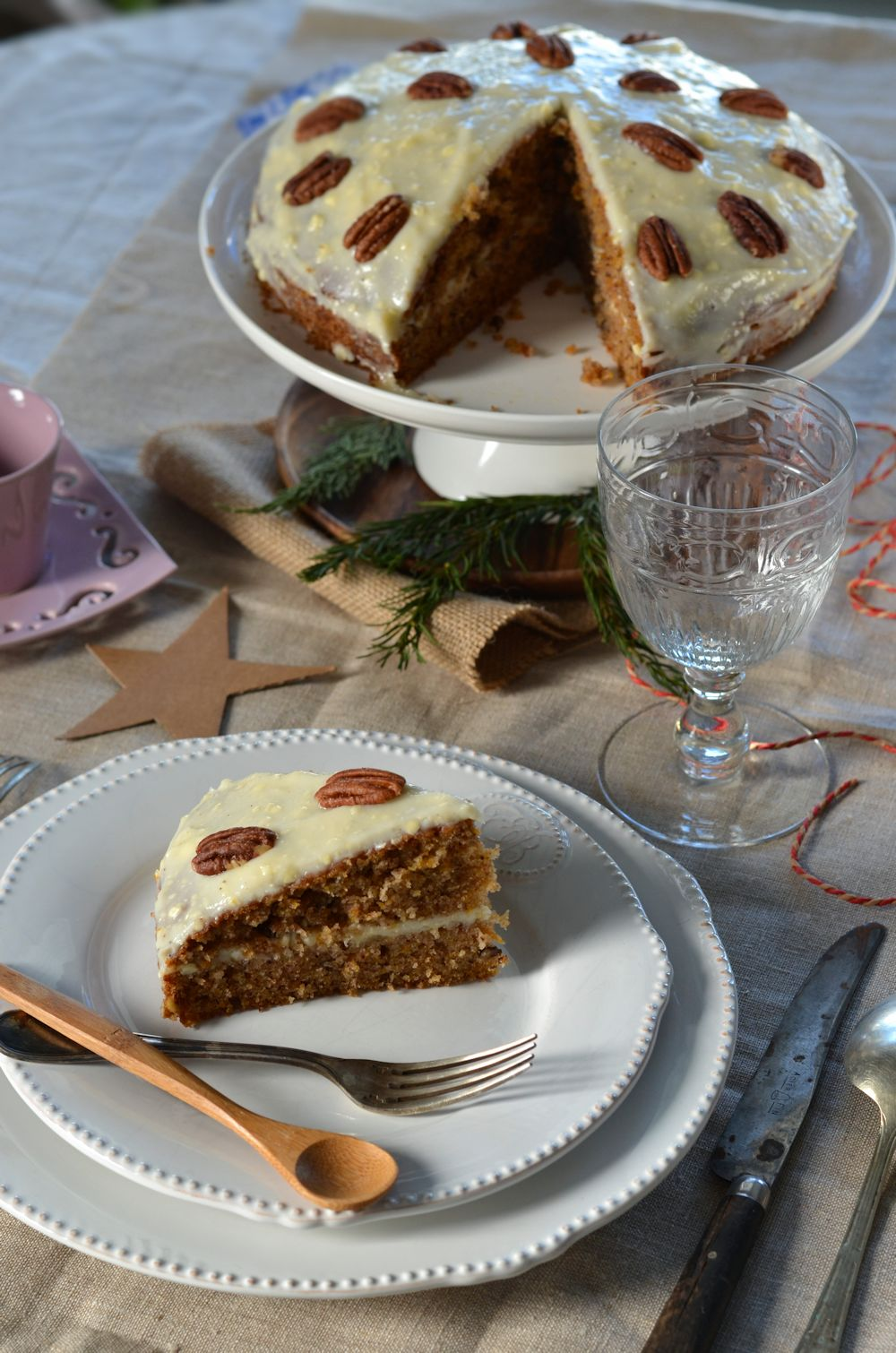carrot cake g teau de carotte la meilleure recette tangerine zest. Black Bedroom Furniture Sets. Home Design Ideas
