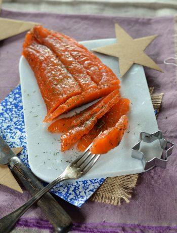 Saumon gravlax maison à l'aneth