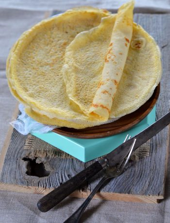 Crêpes maison au beurre