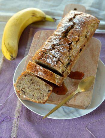 Banana bread aux noix de pecan