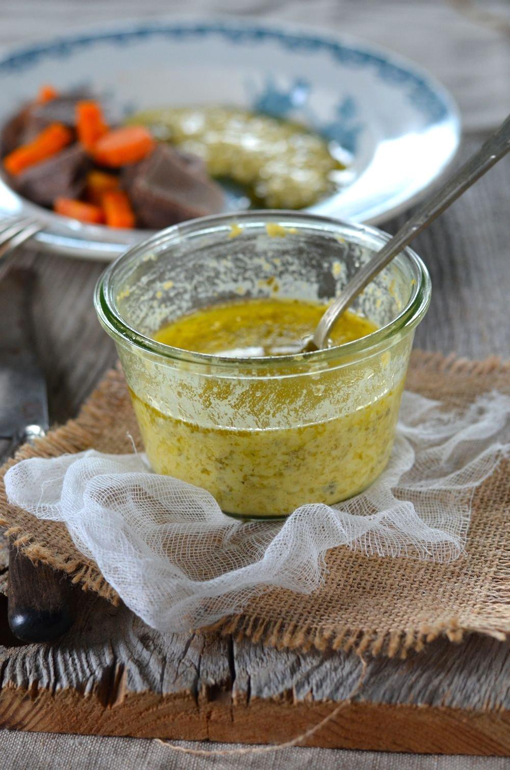 Langue de boeuf sauce gribiche