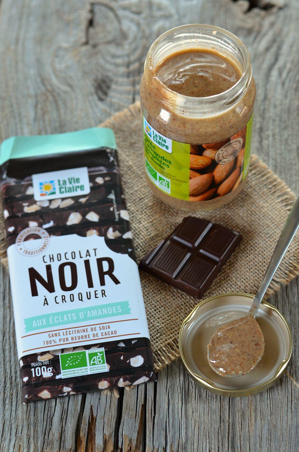 Pluizig chocolade amandel puree en oranje schillen - Recept