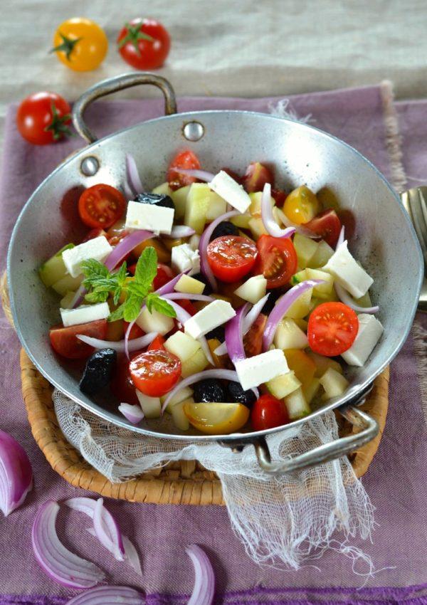 Salade à la grecque {maison}