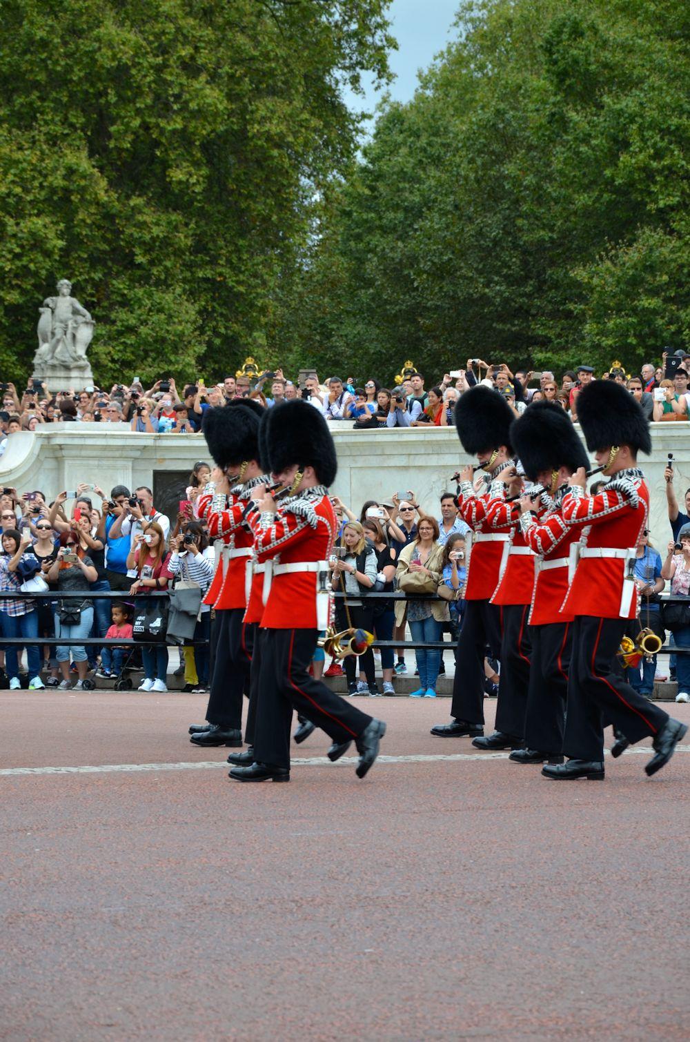 Défilé garde royale Londres