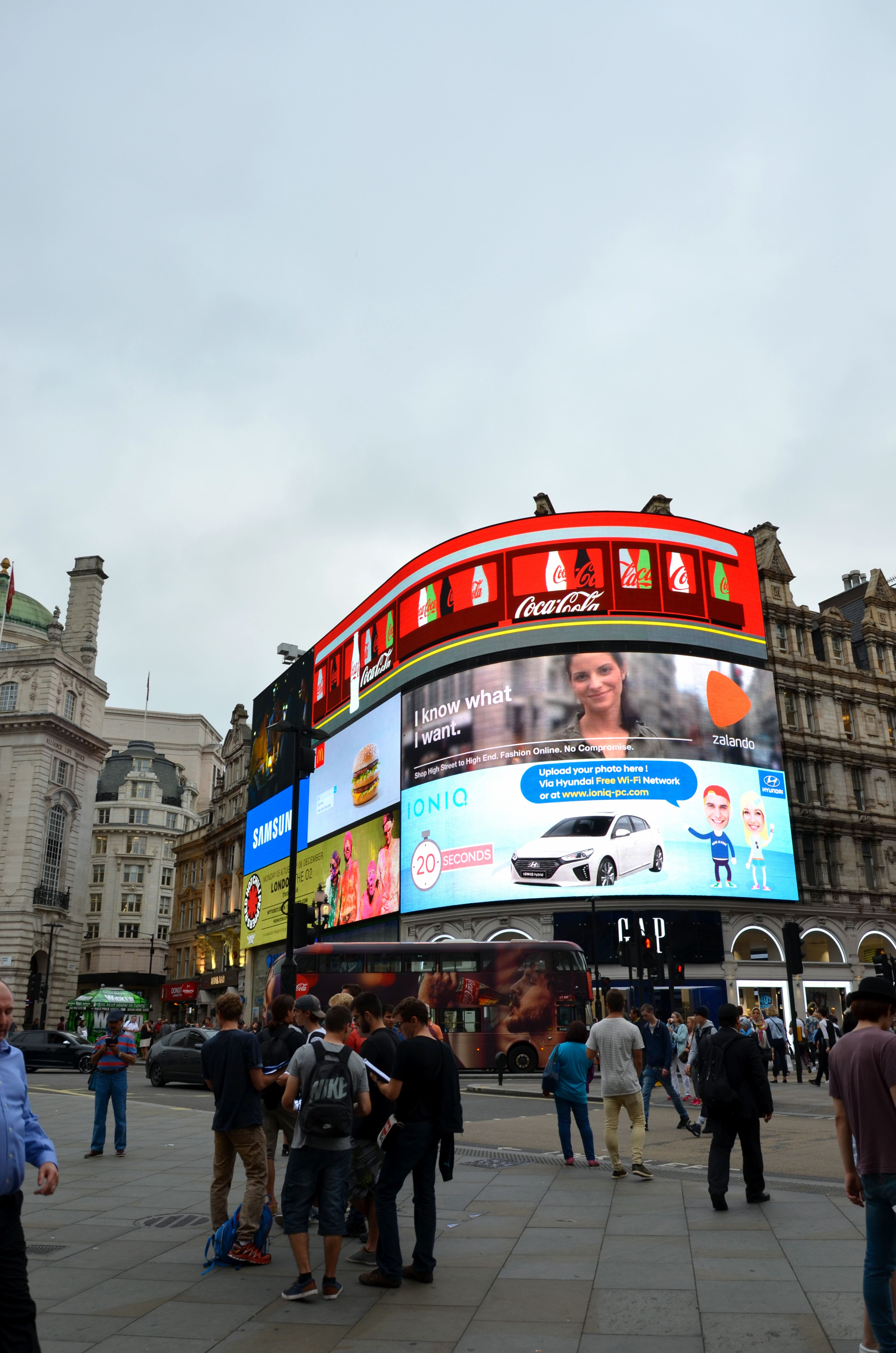 Piccadilly circus - Voyage à Londres, en famille