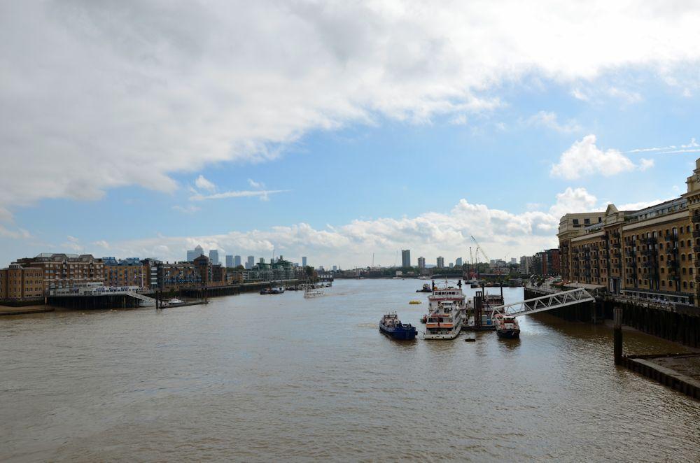 Bords de la Tamise - Voyage à Londres, en famille
