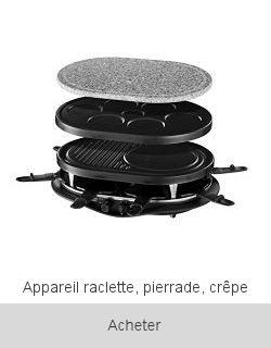 Boutique Appareil Raclette