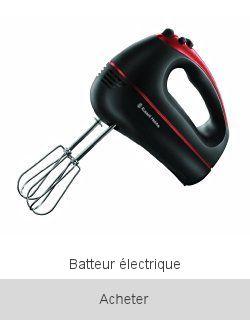 Boutique Batteur électrique Bosch