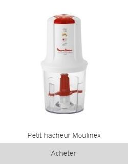 Boutique Mini hachoir Multi Moulinette Moulinex