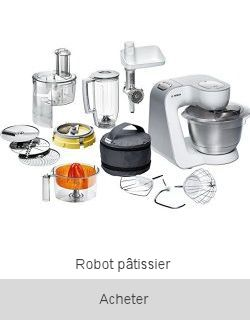 Boutique Robot pâtissier et de cuisine Bosch