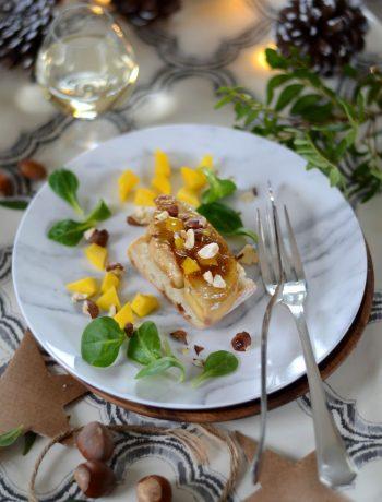 Foie gras poêlé et chutney de mangue