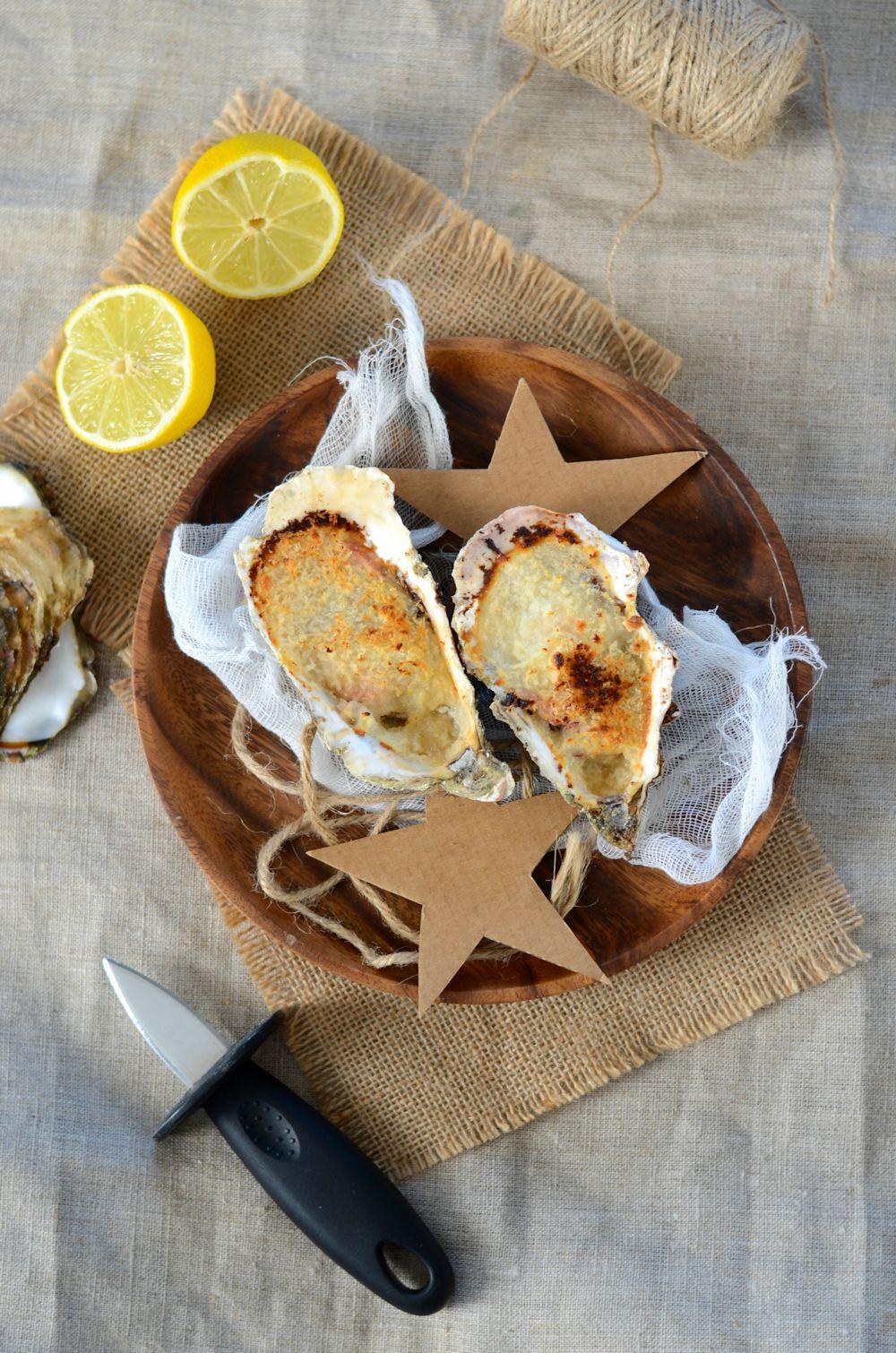 Huîtres chaudes au four à la charentaise
