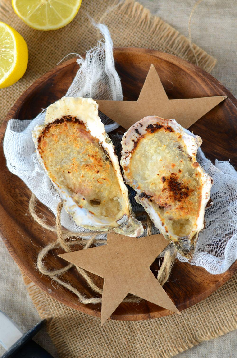 Huîtres chaudes gratinées au four - Recette - Tangerine Zest