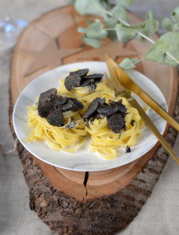 Pâtes à la truffe noire fraiche