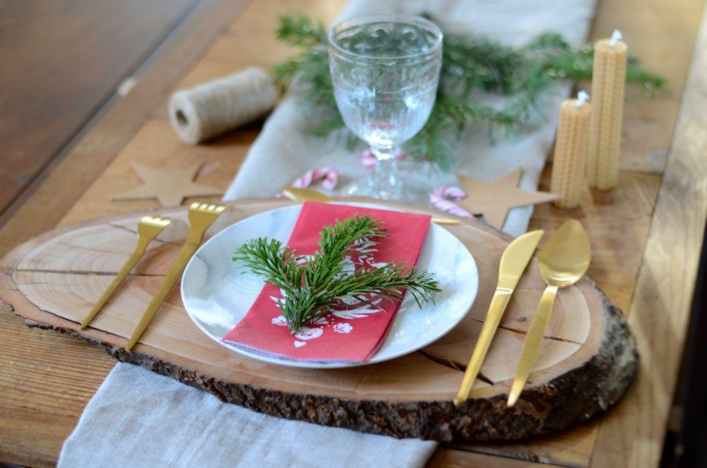 Table de Noël