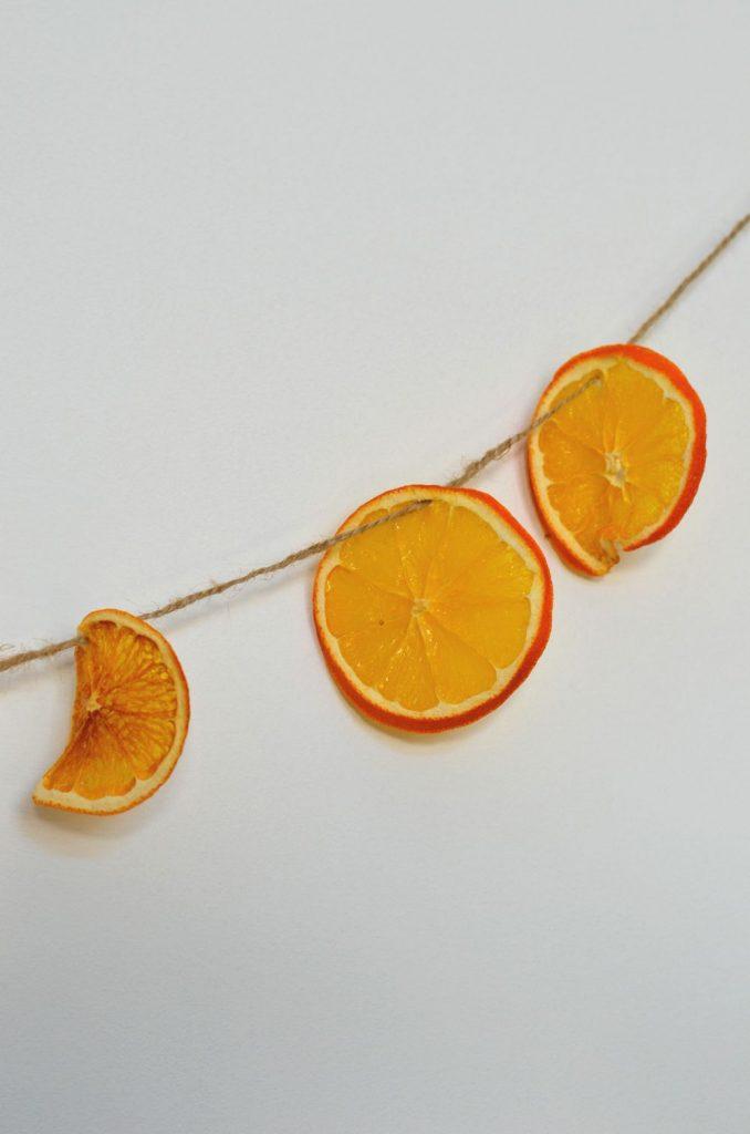 Oranges séchées au four {en déco ou à manger}