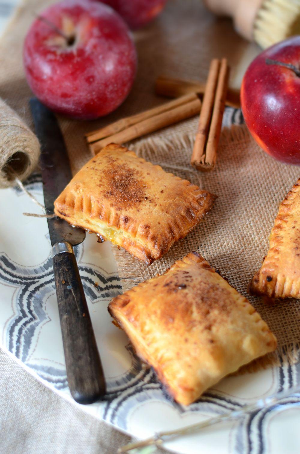chaussons aux pommes et mangues maison