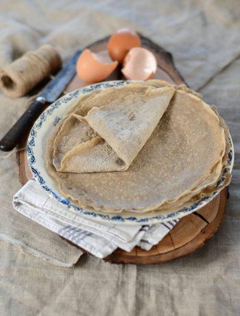 Galette bretonne à la farine de sarrasin