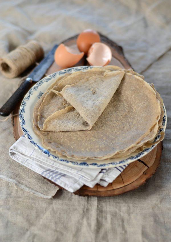 Galette bretonne à la farine de sarrasin {crêpe}