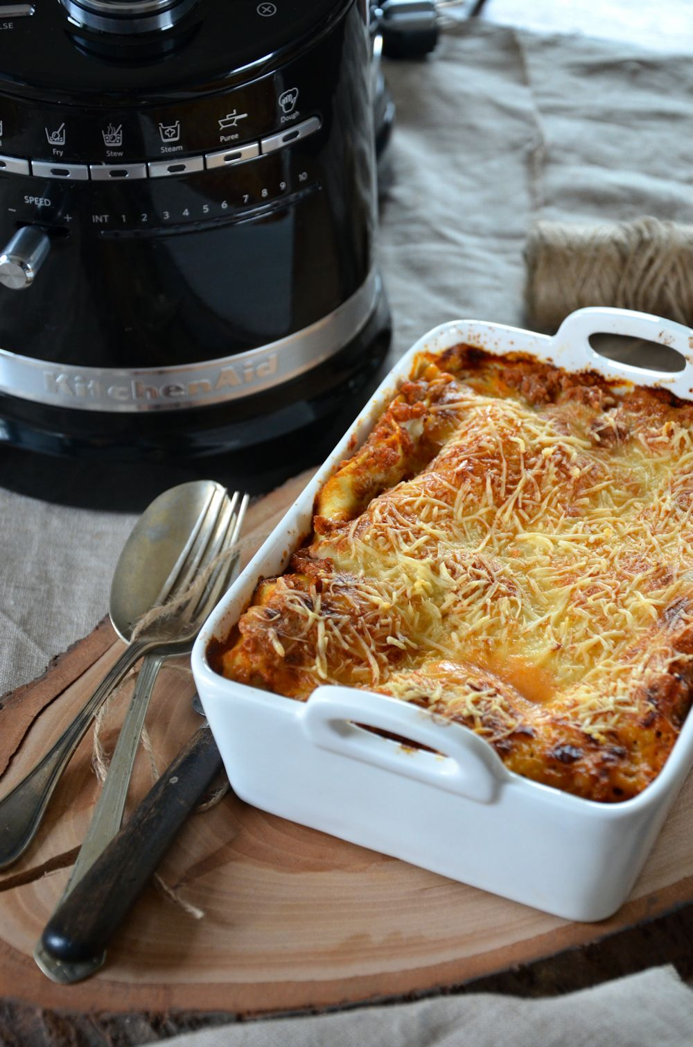 Lasagnes maison à la bolognaise