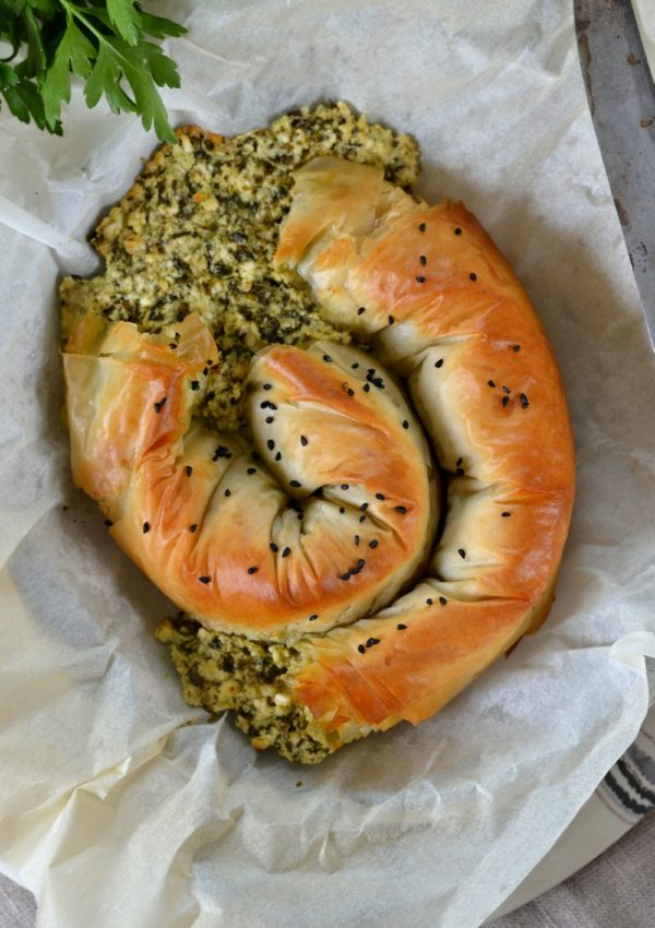 beurek au fromage et aux herbes